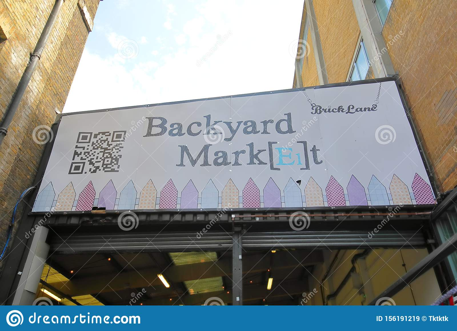 Backyard Market At Brick Lane Sunday Market London UK ...