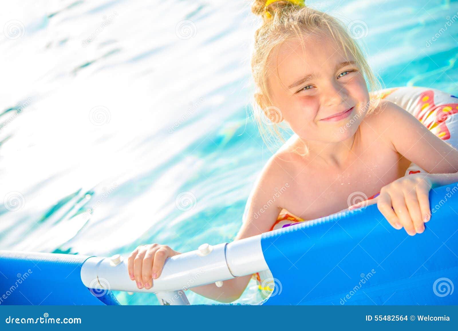 Little Girl Swimming Kid Hot Girls Wallpaper