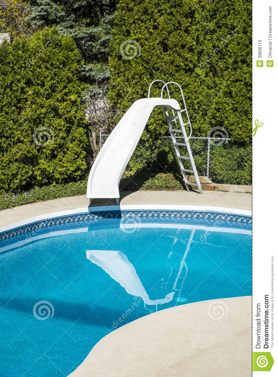 Backyard swimming pool royalty free stock images image for Garden swimming pool with slide