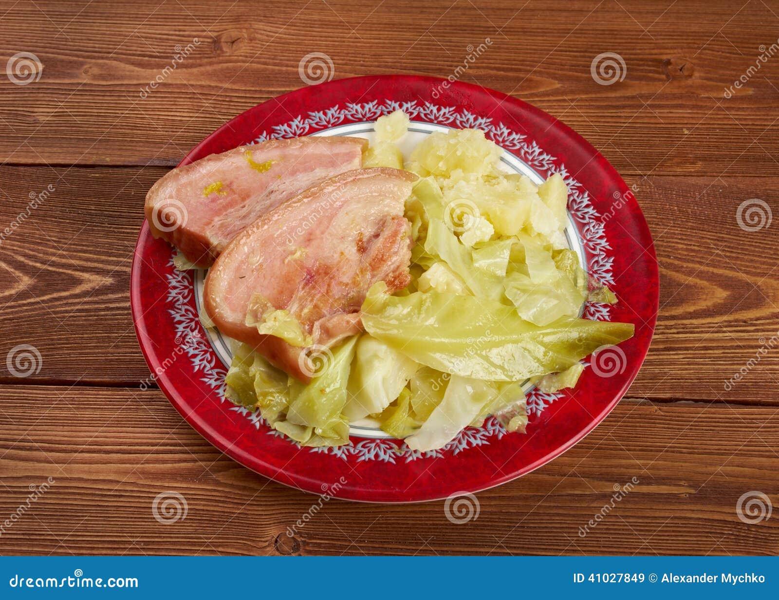 Bacon e cavolo