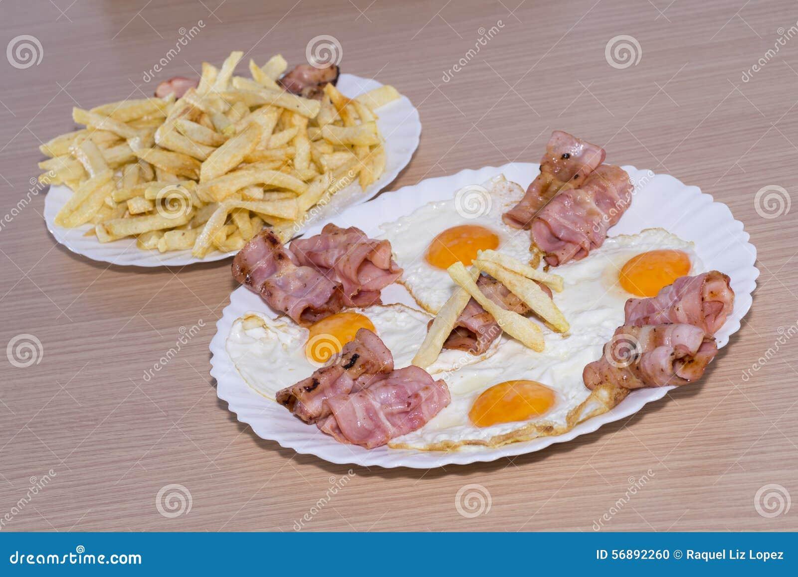 Bacon en Eieren