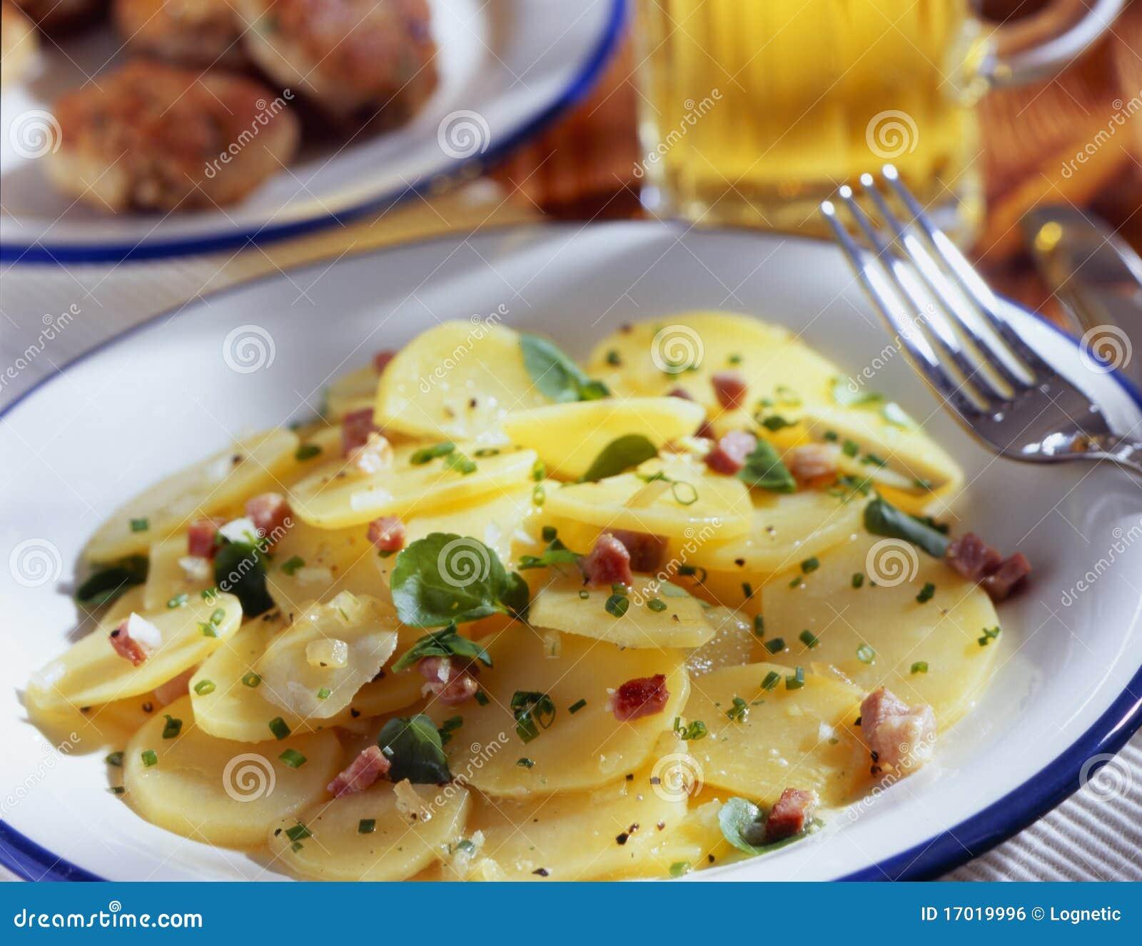 Bacon and potato
