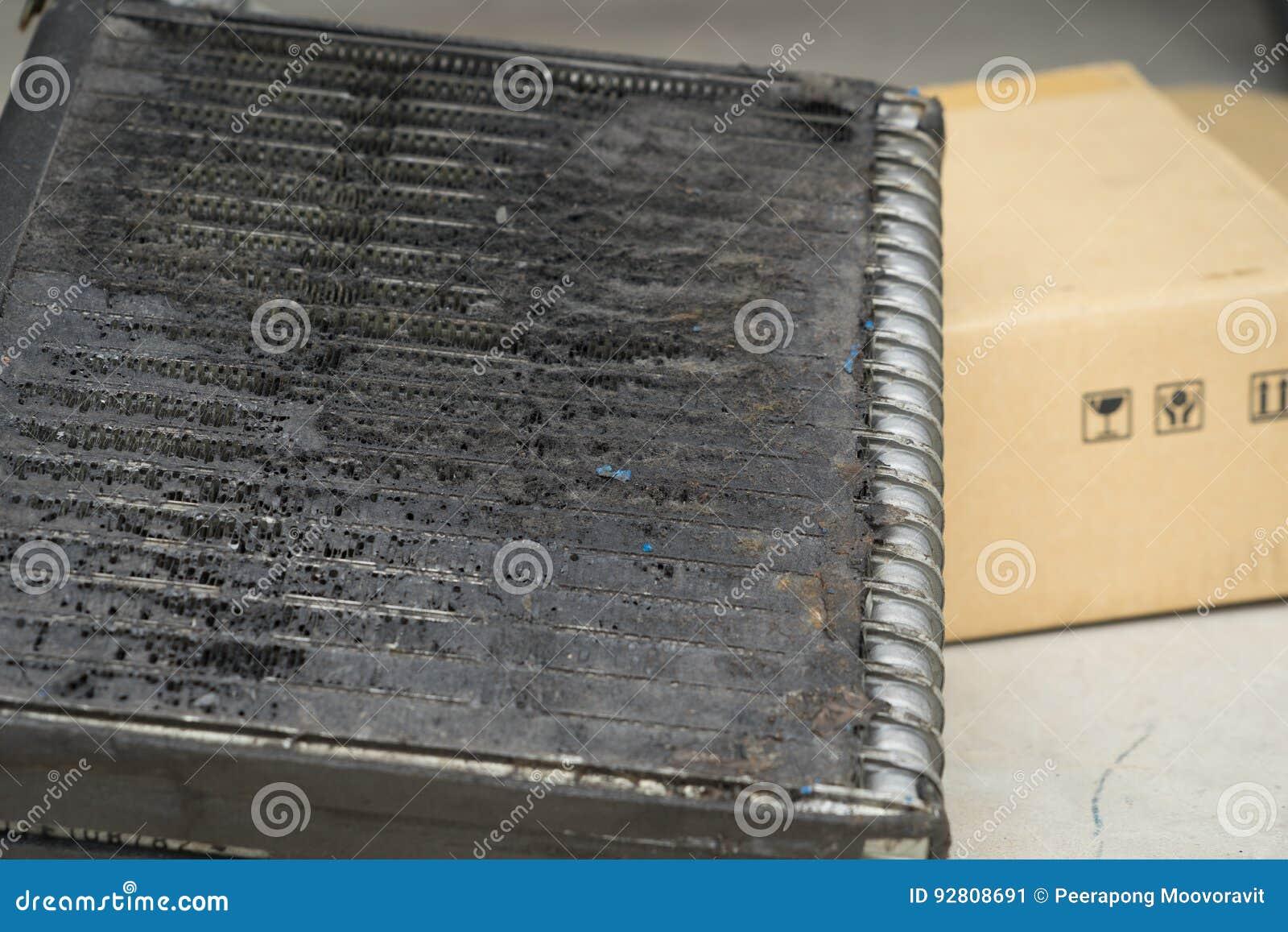 Bactéries de difficulté de dommages de voiture d automobile d état d air de bobine