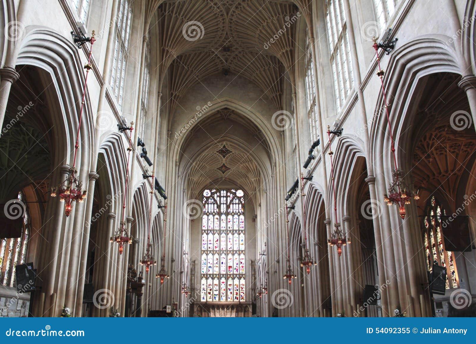 Bad Abbey Church Ceiling