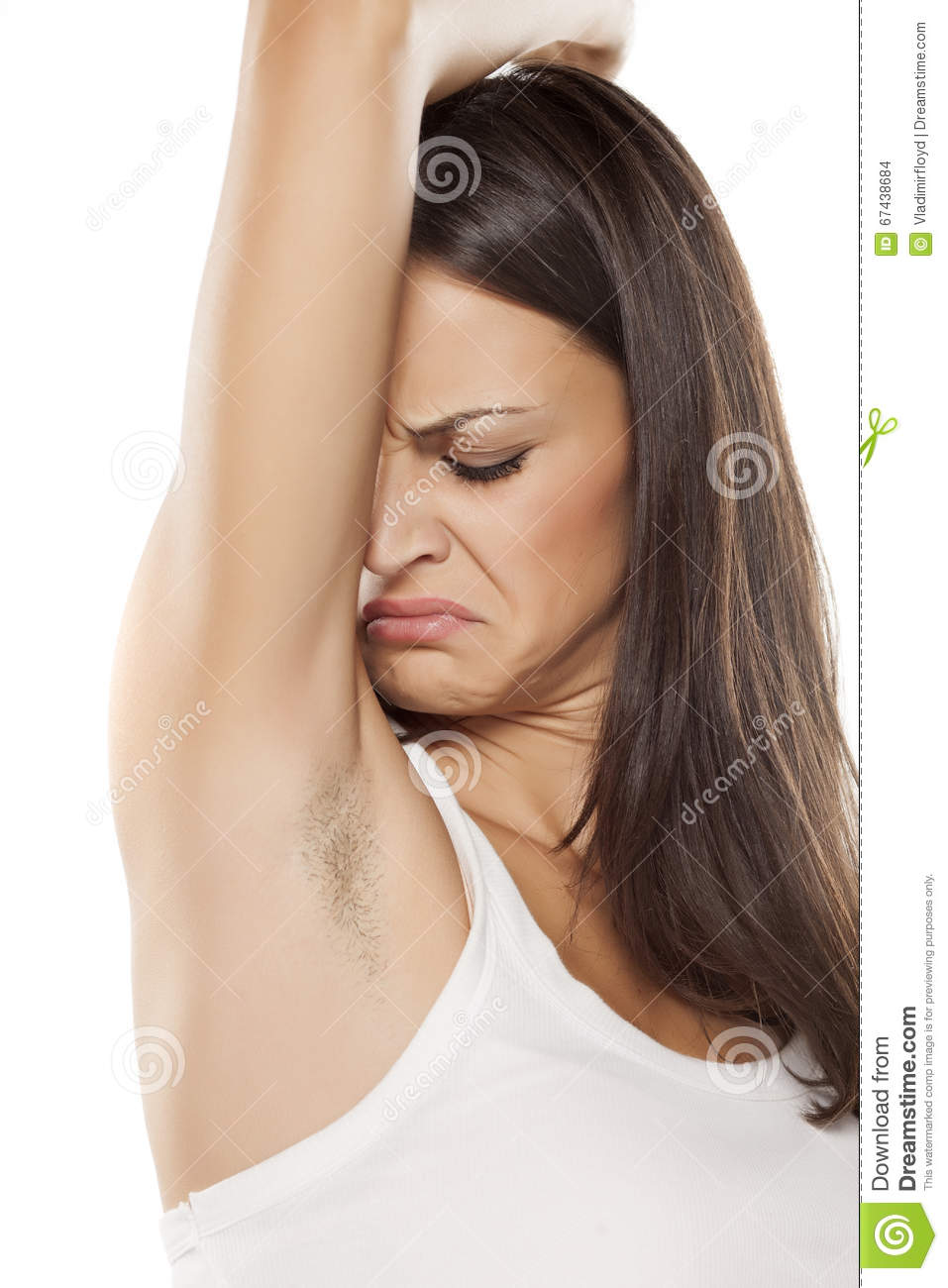 Bad armpit smell