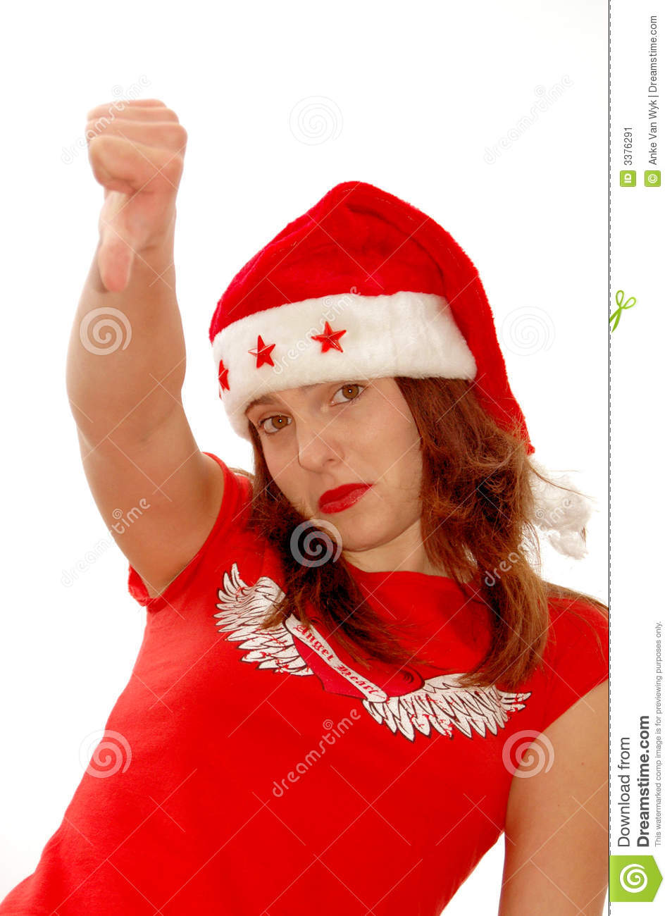 Bad Christmas Stock Image - Image: 3376291
