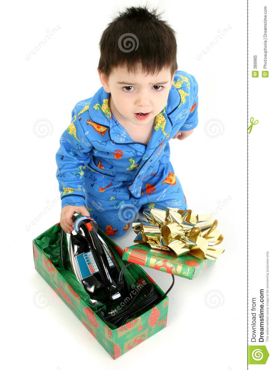Bad Christmas Present Stock Image Image Of Angry Child