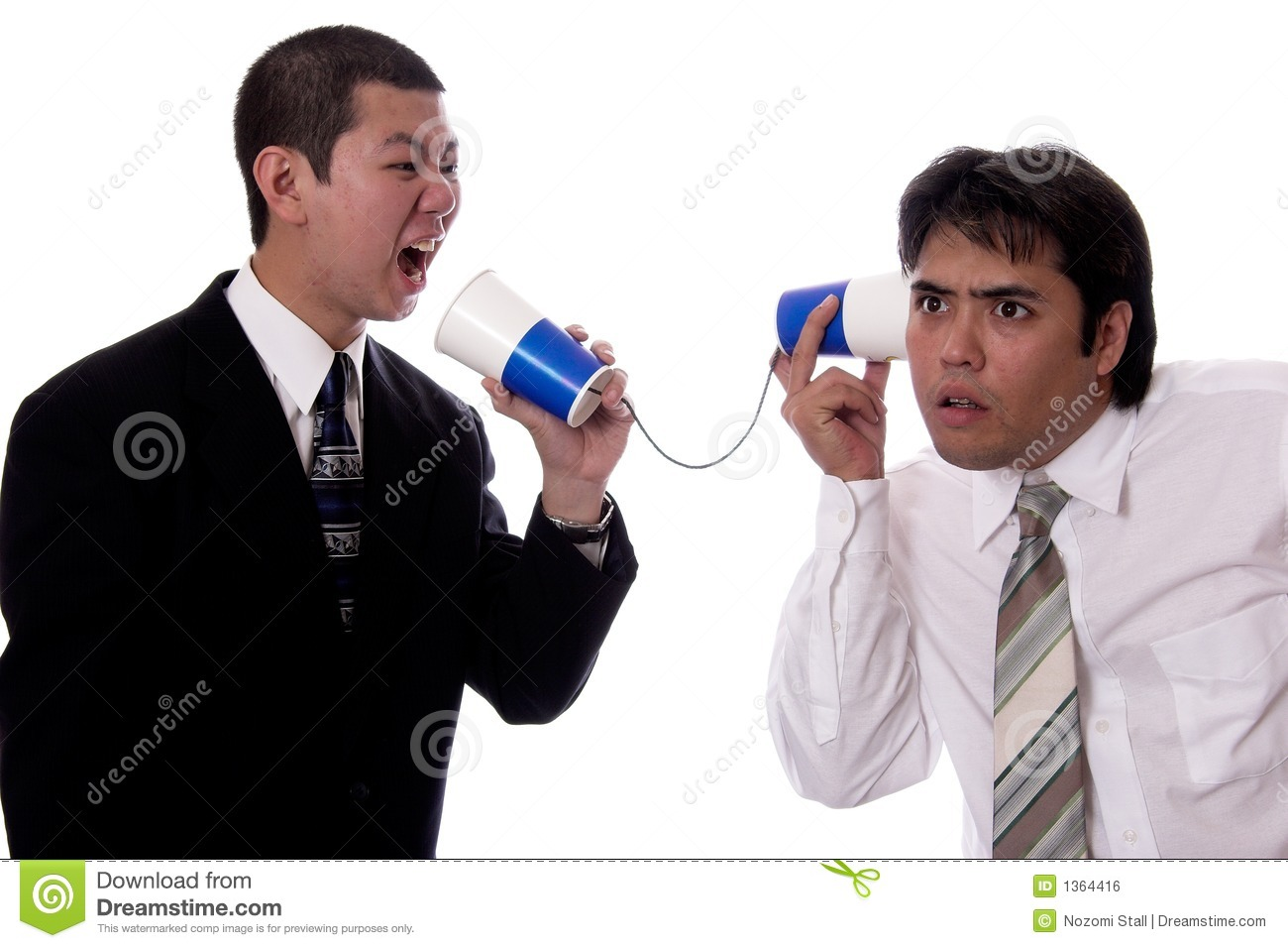 Bad Communication Royalty Free Stock Image - Image: 1364416