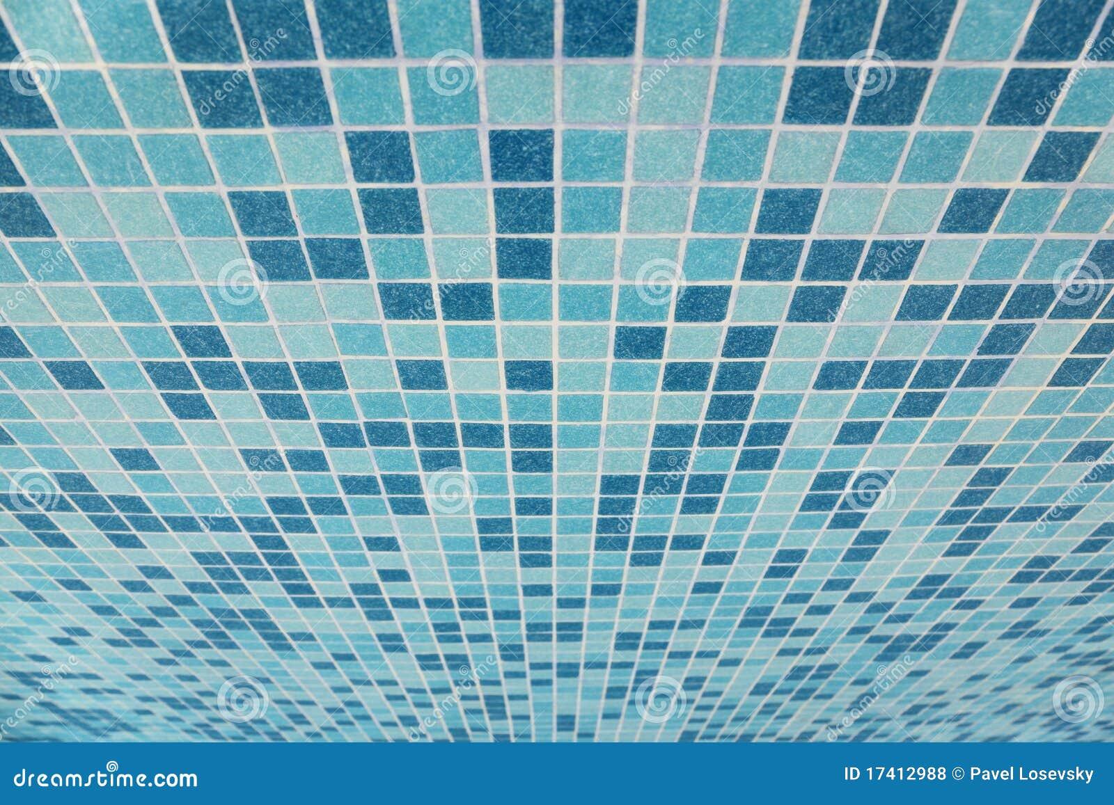 bad deckte beschaffenheit mit blauen quadraten mit ziegeln, Hause ideen