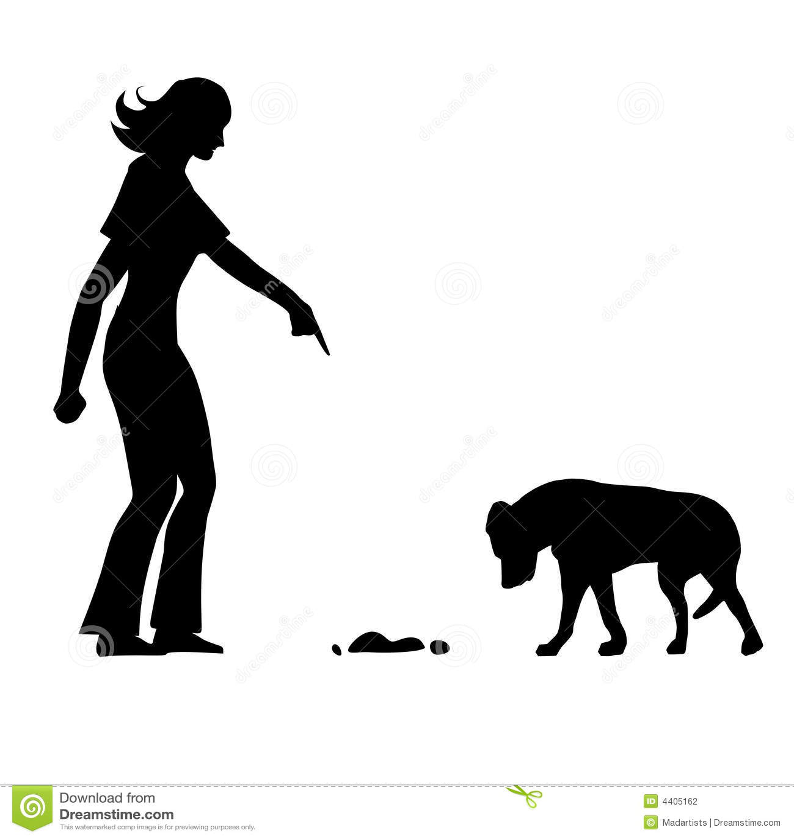 Bad Dog House Training Mess Stock Photography - Image: 4405162