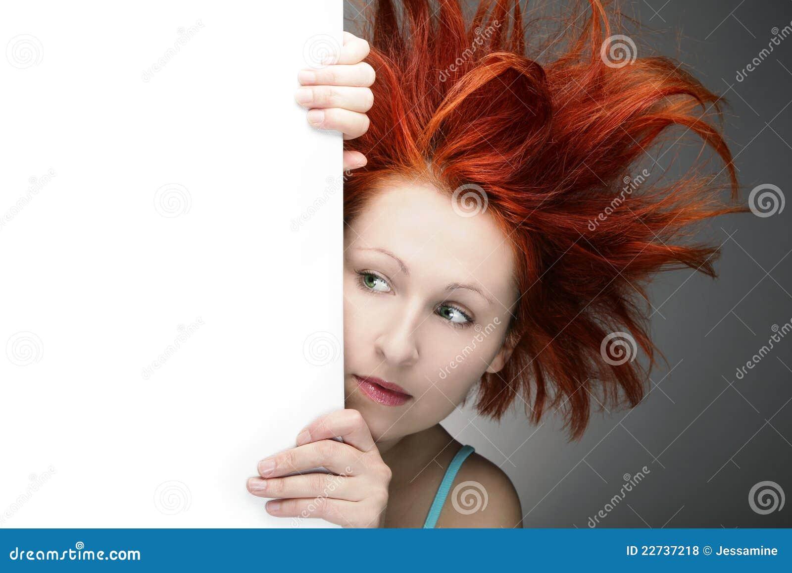 bad hair day royalty free stock photos image 22737218