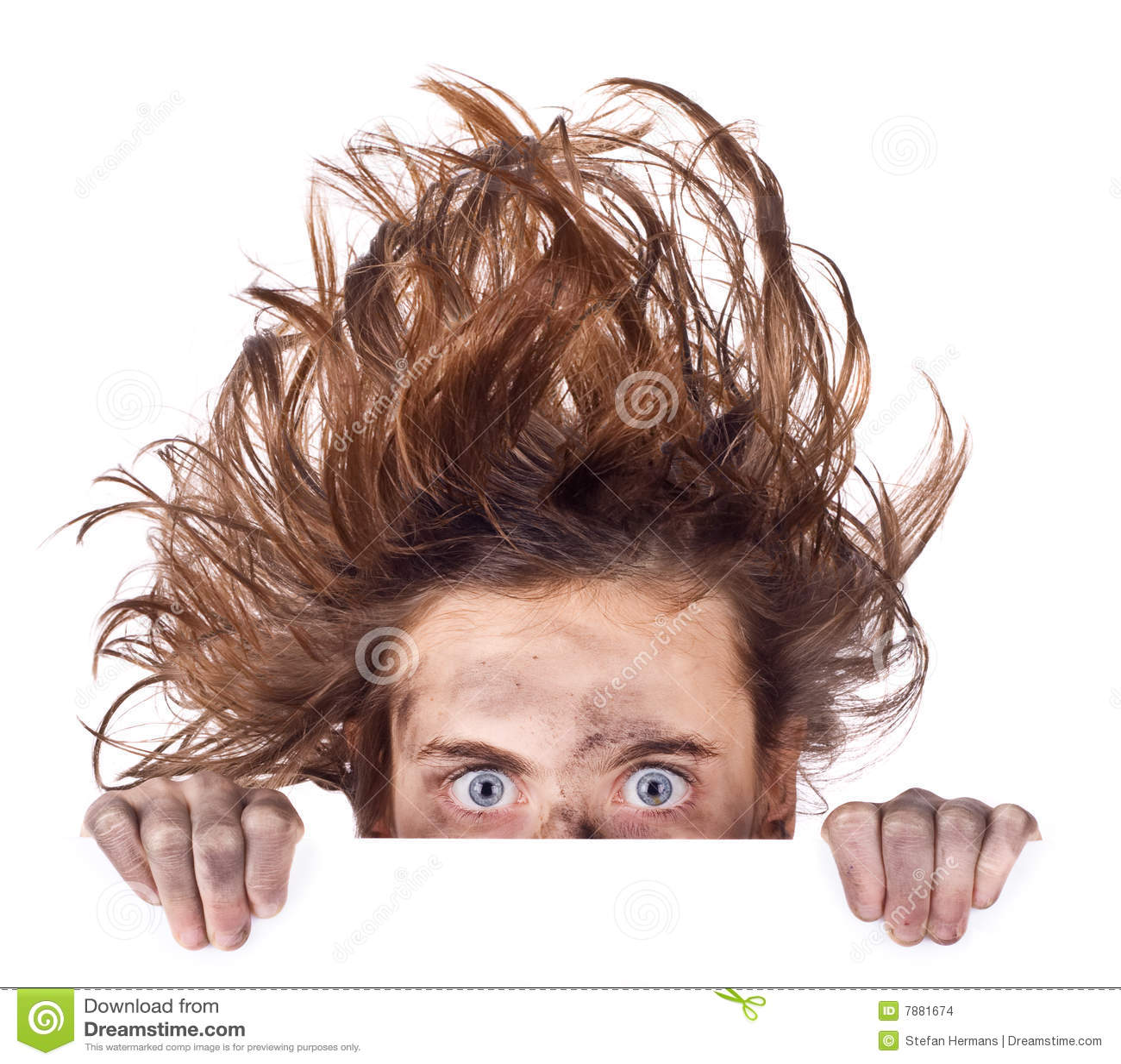 Bad hair day banner