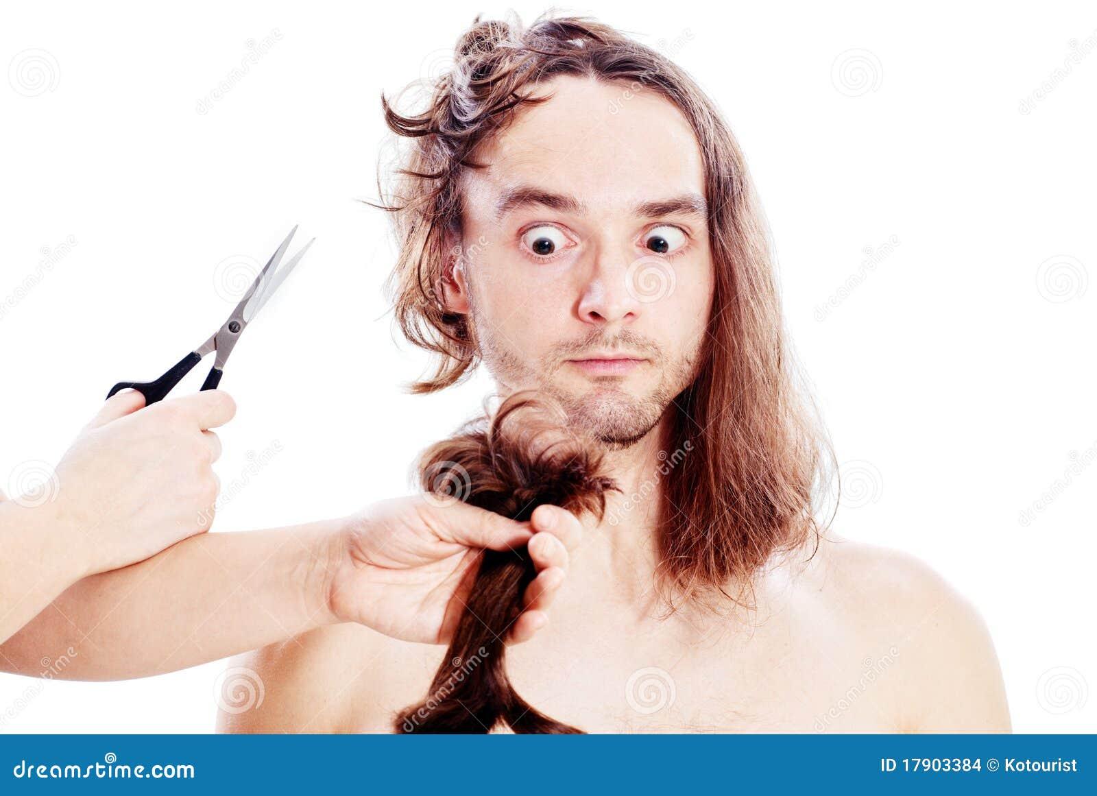 Bad Haircut Stock Photo Image Of Barbershop Funk Expression
