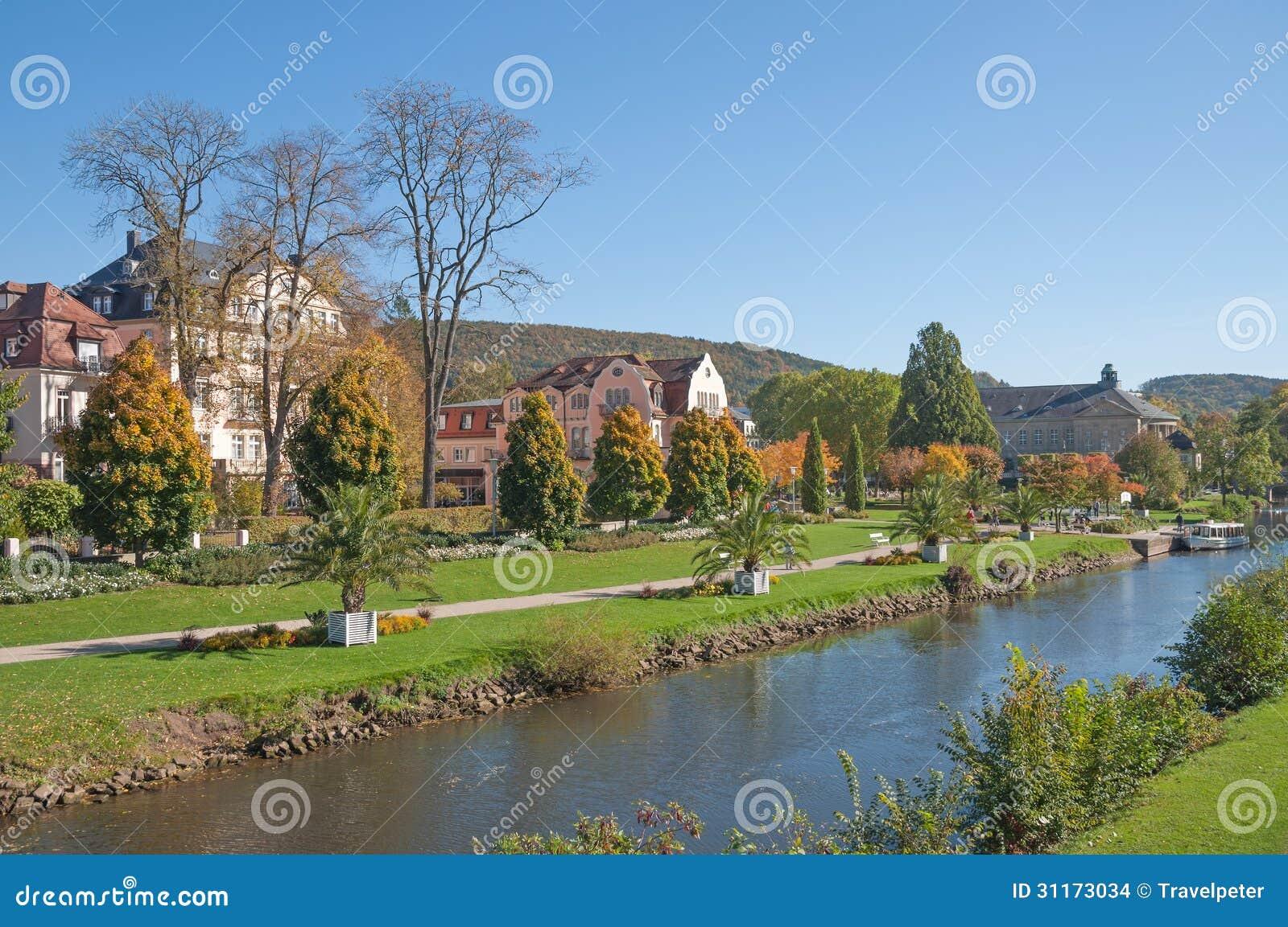 bad kissingen bavaria germany stock photo image of resort rhoen 31173034. Black Bedroom Furniture Sets. Home Design Ideas