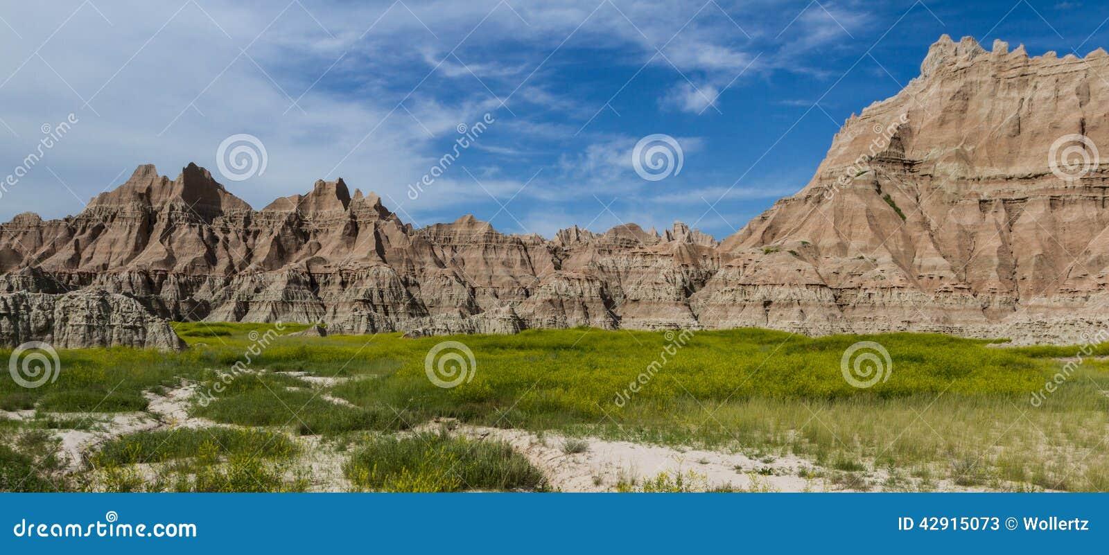Bad-lands, le Dakota du Sud
