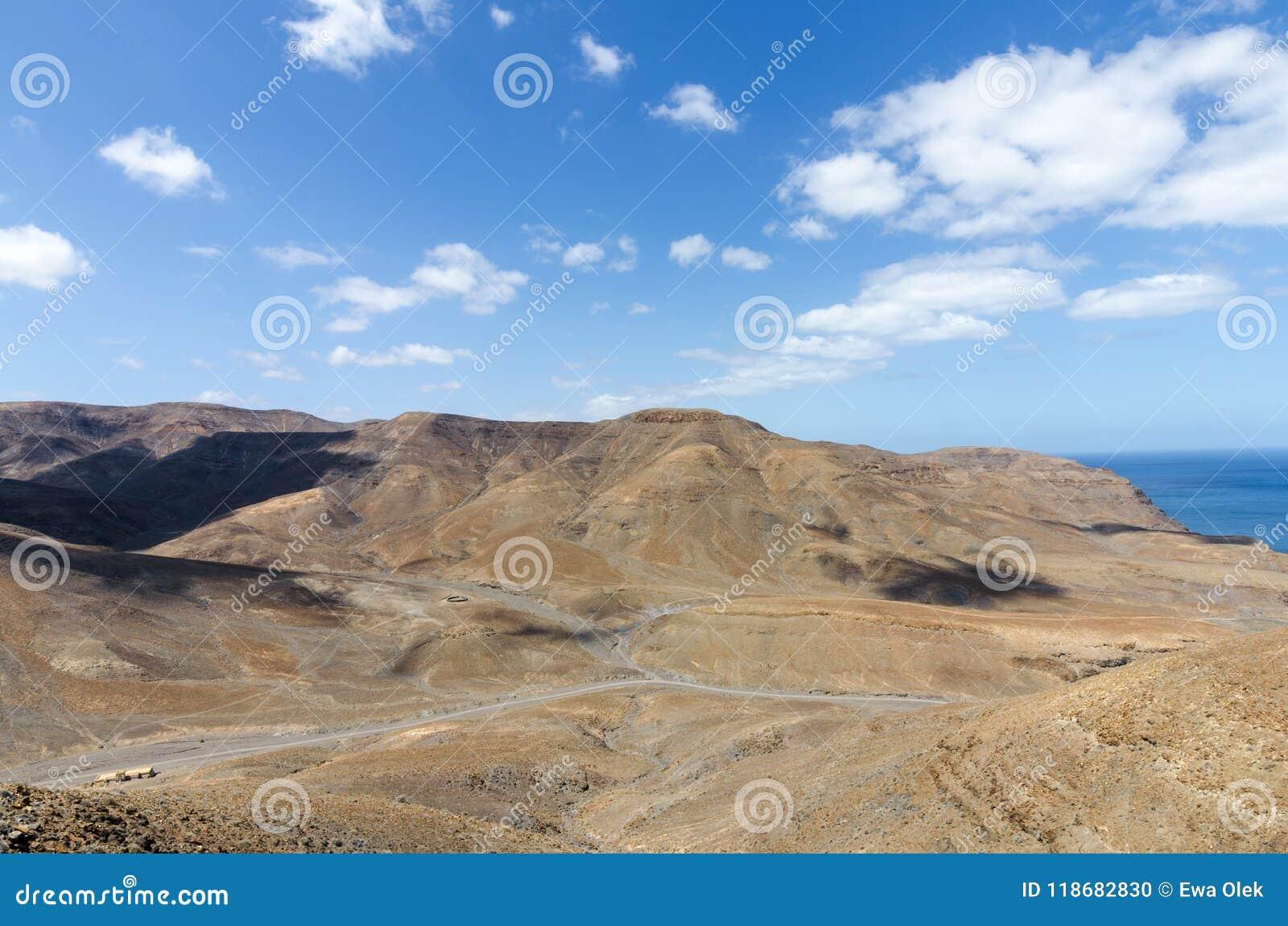 Bad-lands volcaniques de Fuerteventura
