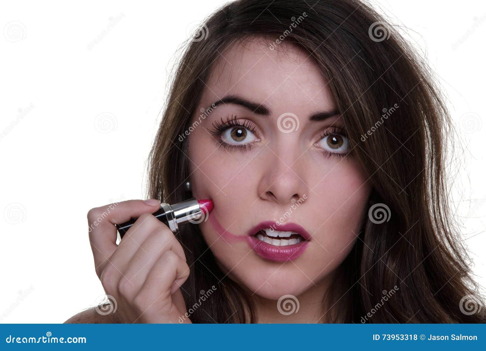 Bad make up day