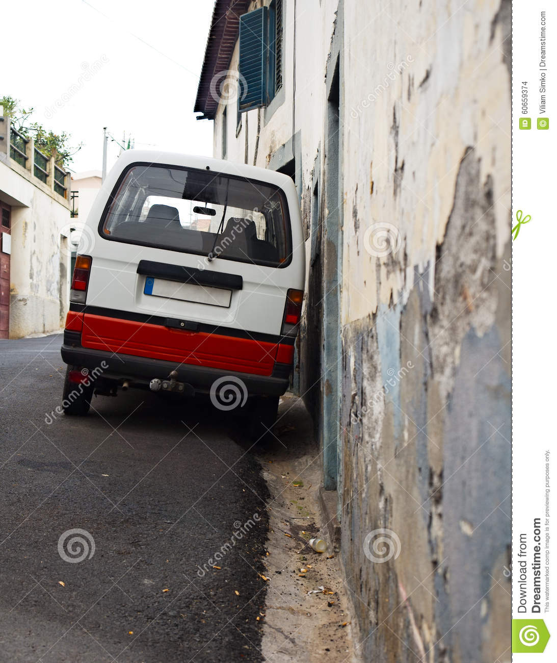 Almost bad parking stock photo image 60659374 for Wall street motor cars