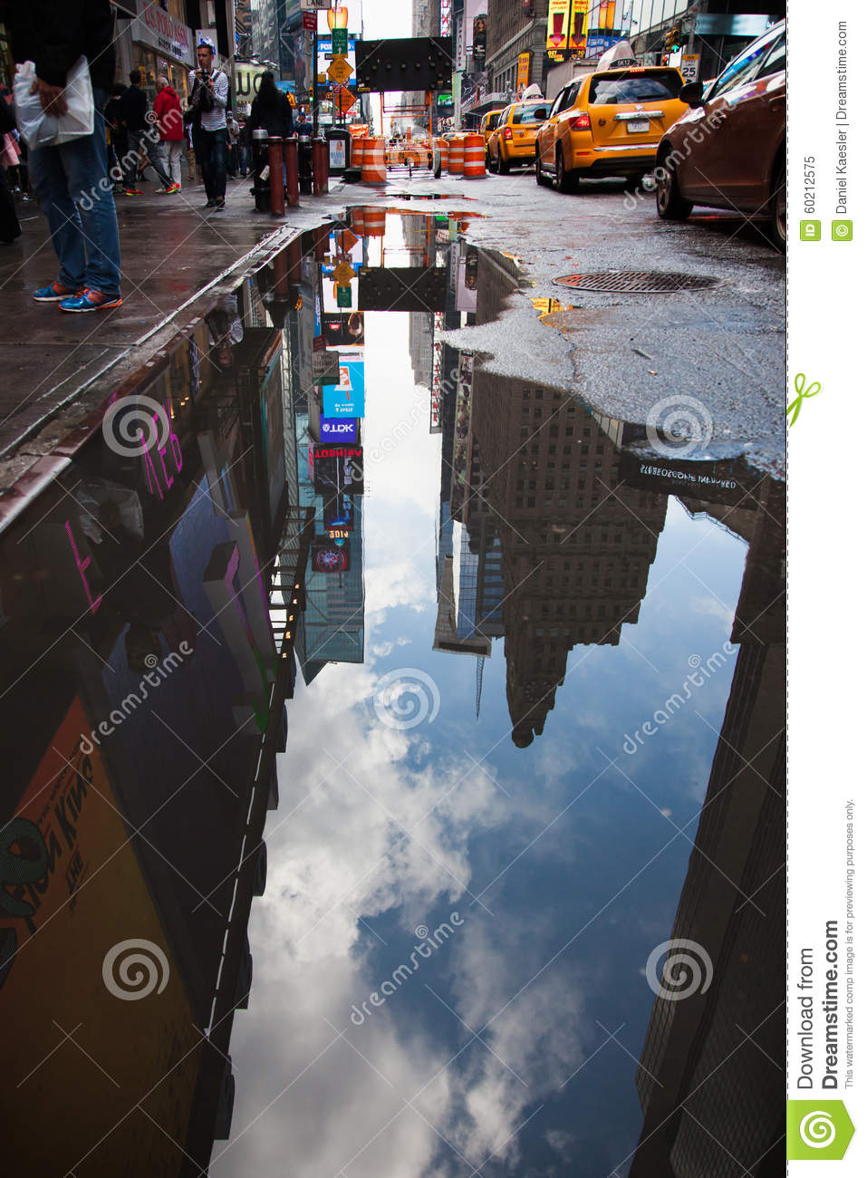 Bad Weather In New York Editorial Image. Image Of United