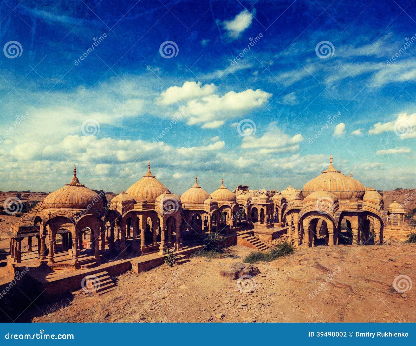 Bada Bagh, Jodhpur, Rajasthan, Indien