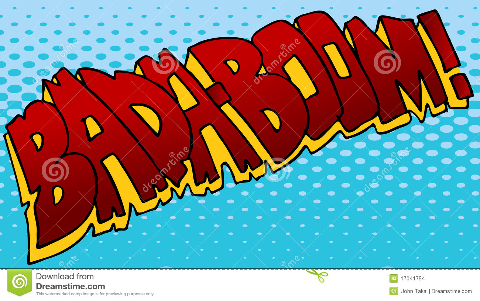 Badaboom Sound Effect Stock Images - Image: 17041754