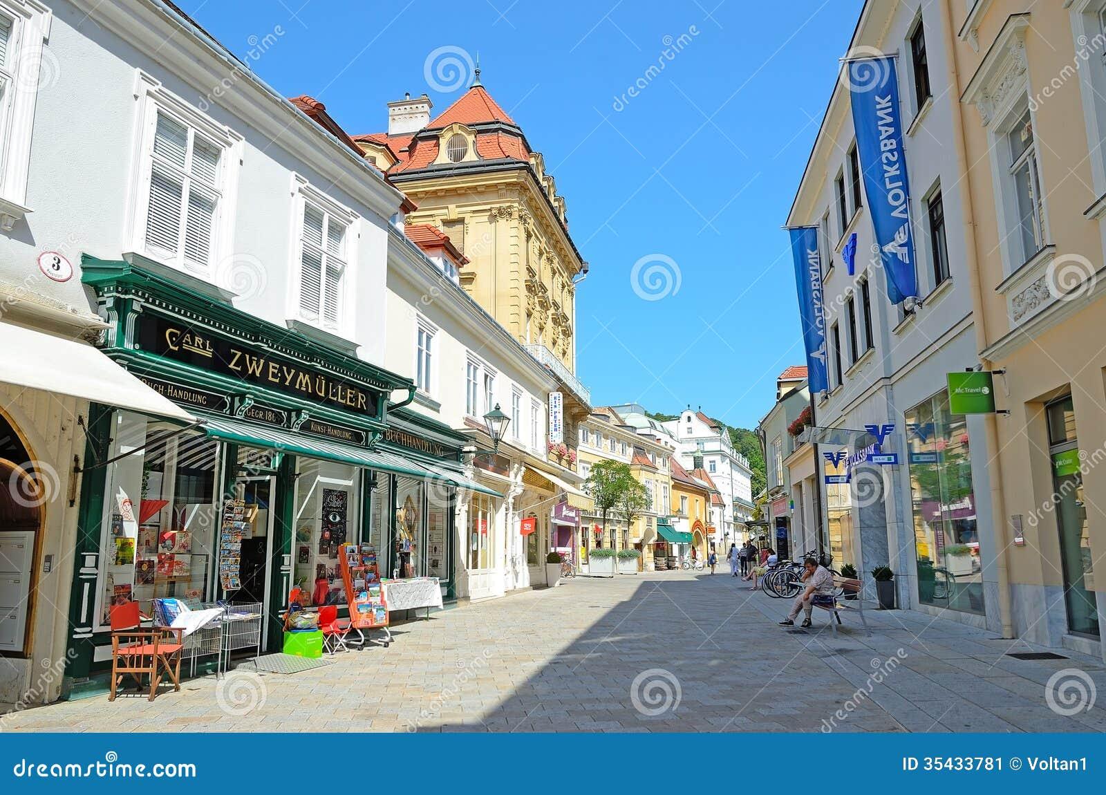 Baden autriche photo ditorial image du m di val district 35433781 - Office du tourisme baden baden ...