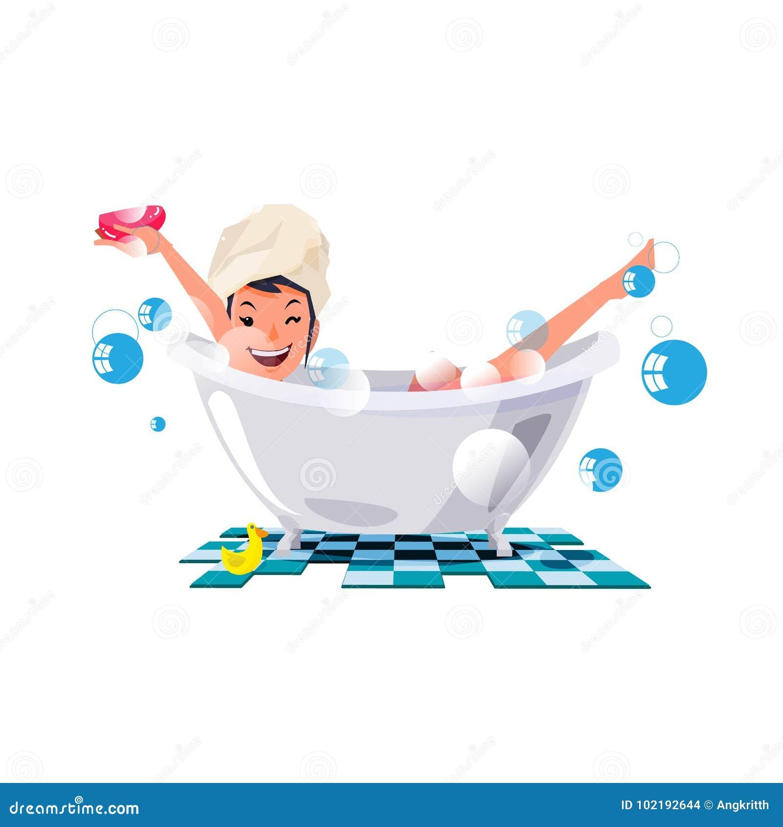 Baden In Der Badewanne