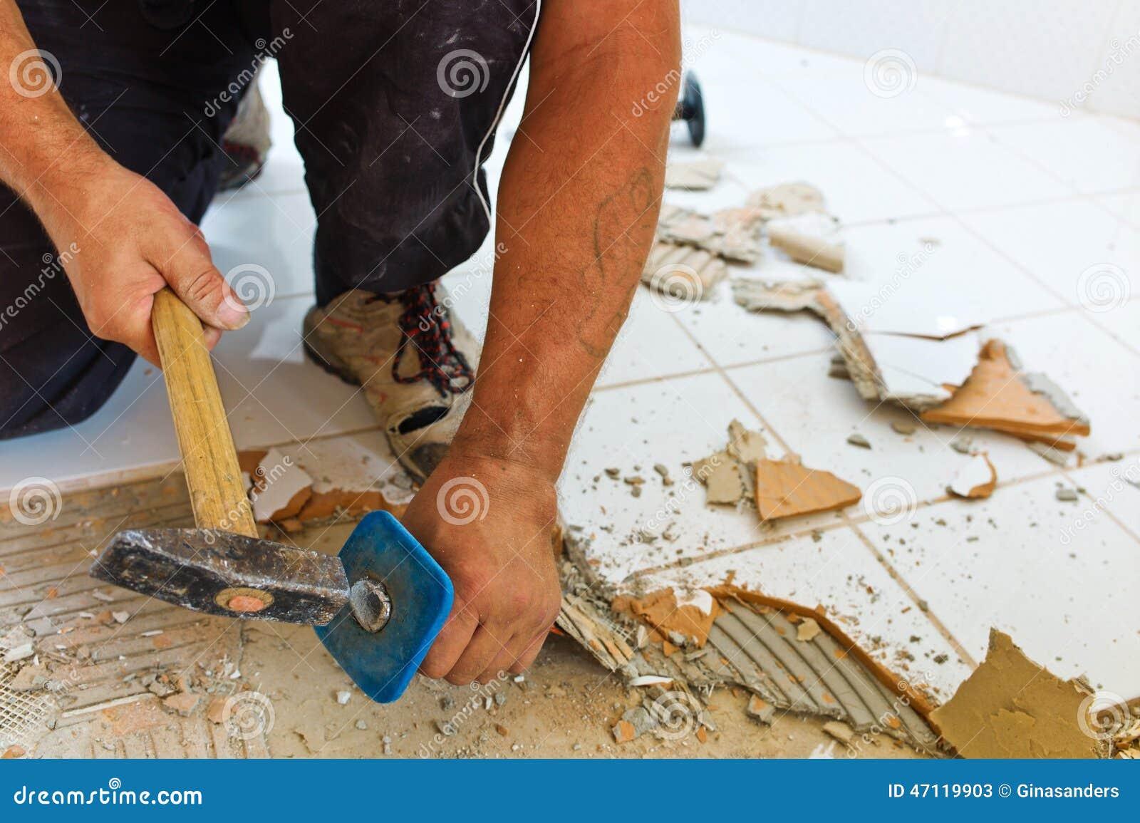 badezimmer ist renvoviert stockfoto - bild: 47119903, Badezimmer ideen