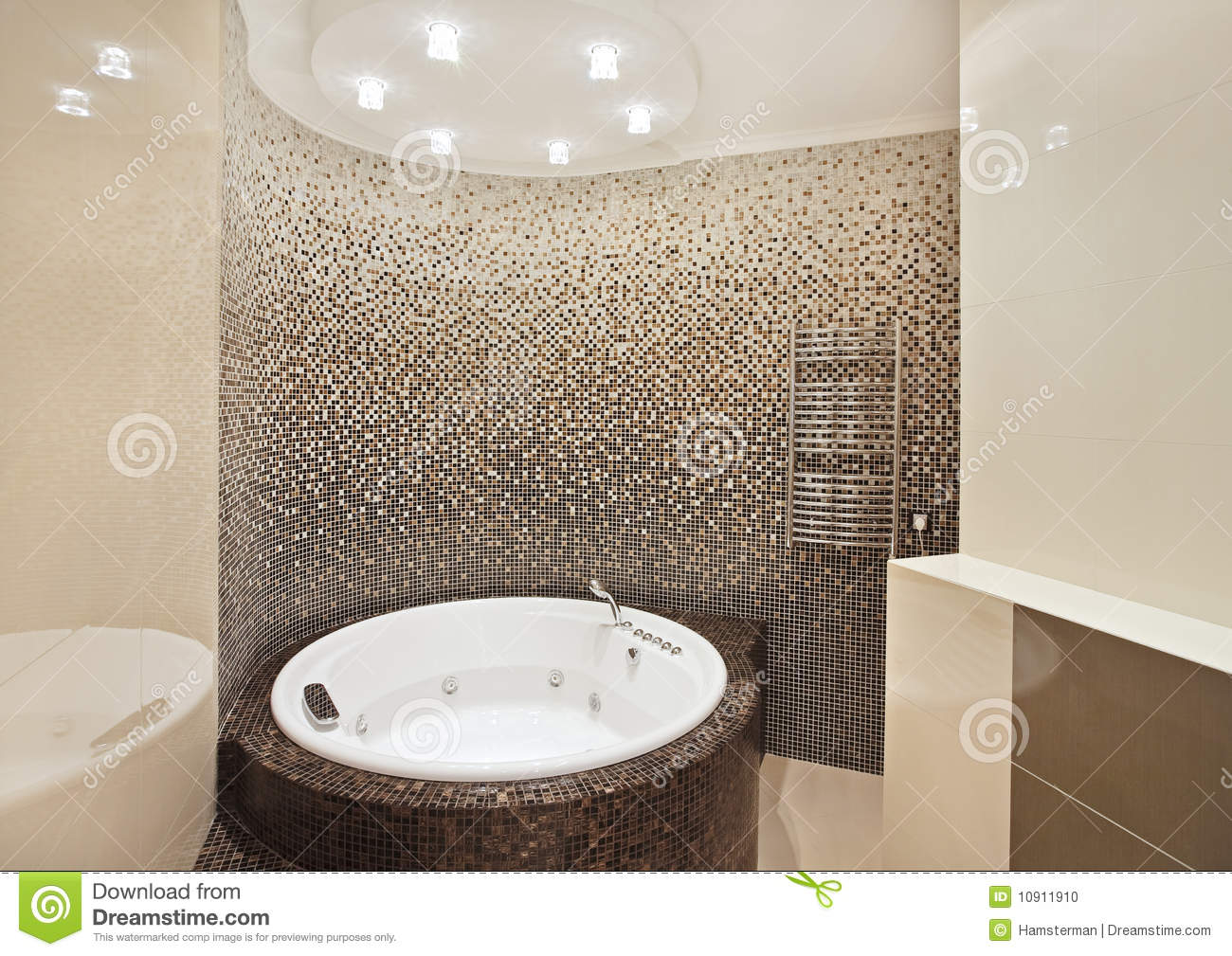 badezimmer in braun mosaik ~ digrit for .