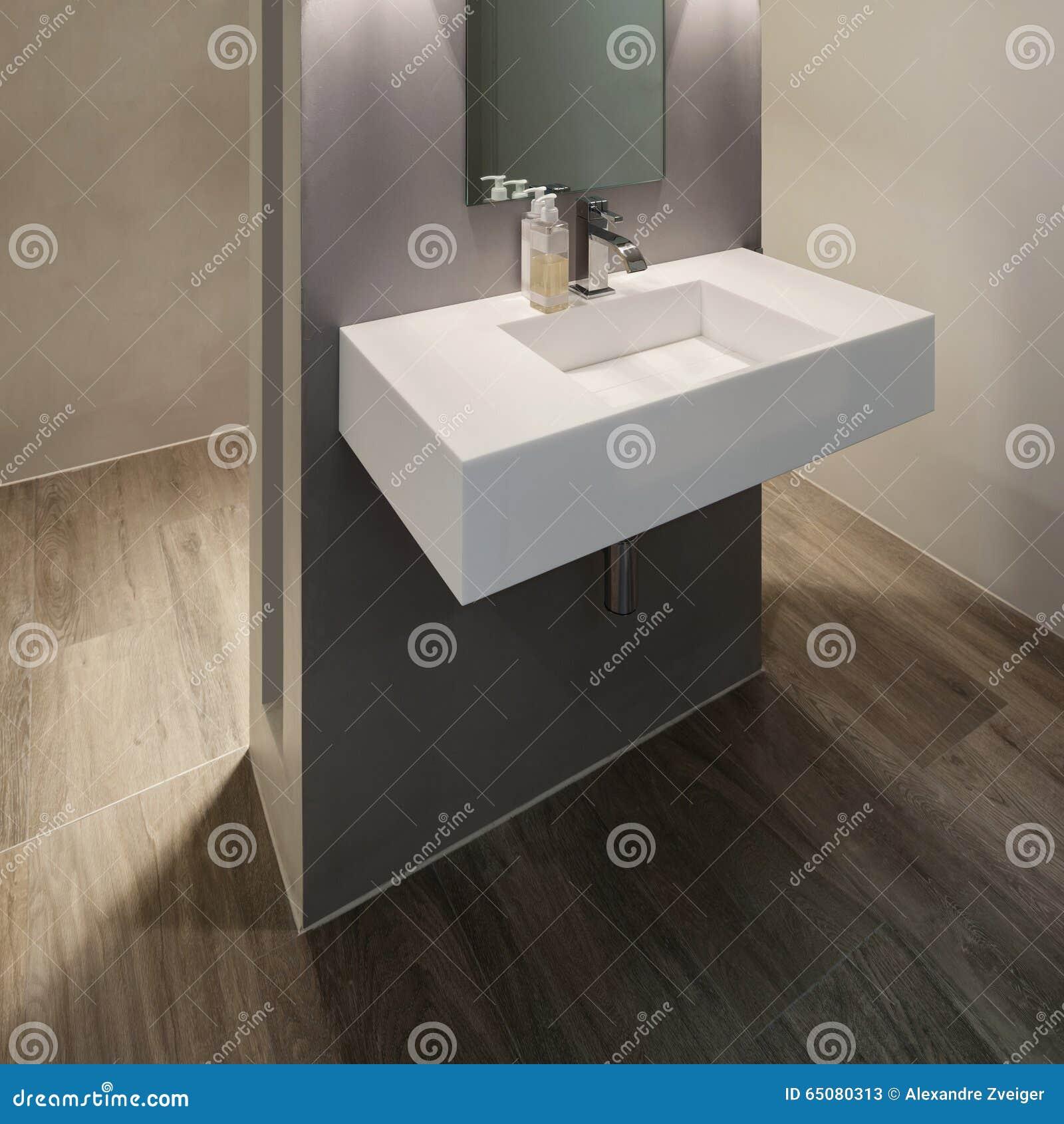 Download Badezimmer, Modernes Design Stockbild   Bild Von Weit, Dekor:  65080313