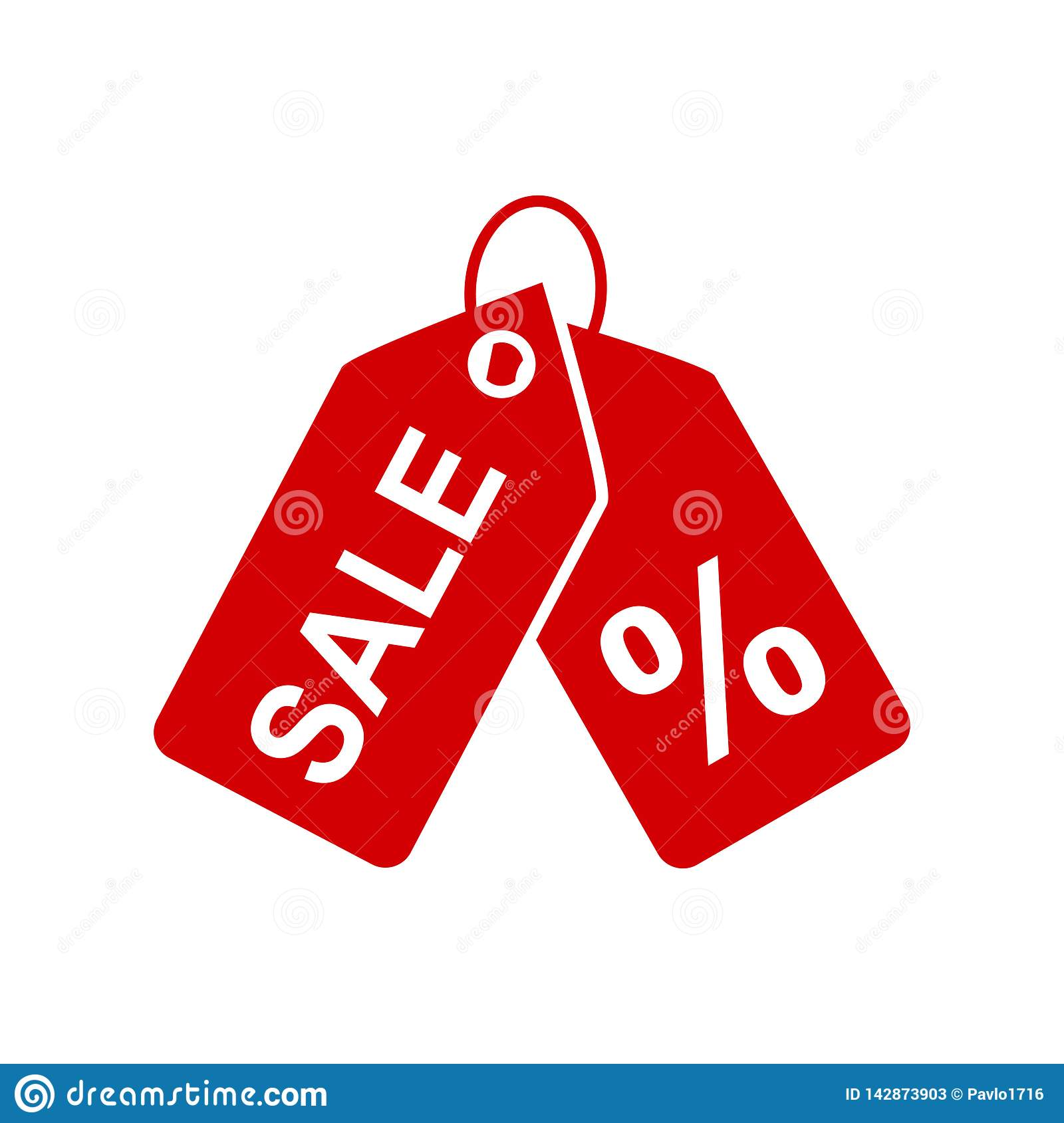 Badge With Percent Icon Sale Discount Banner Special Offer Price Signs Discount Percent Coupon Isolated Shop Badge Stock Illustration Illustration Of Commerce Advertising 142873903