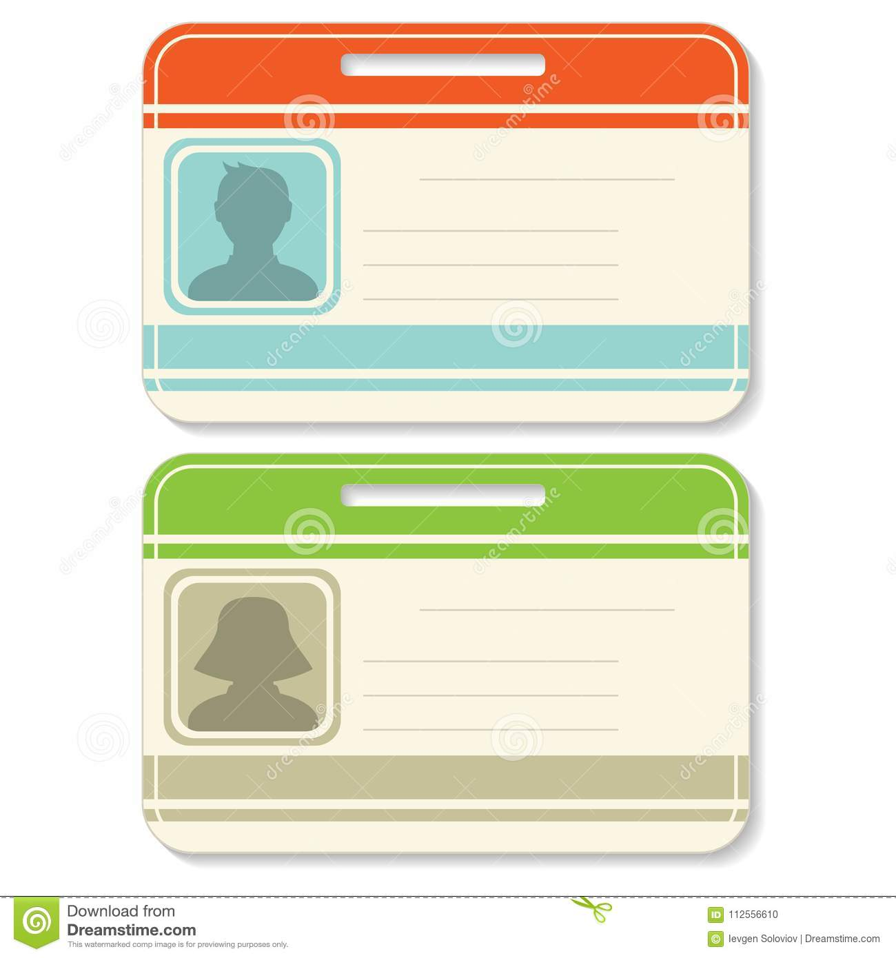 badge template set stock vector illustration of business 112556610
