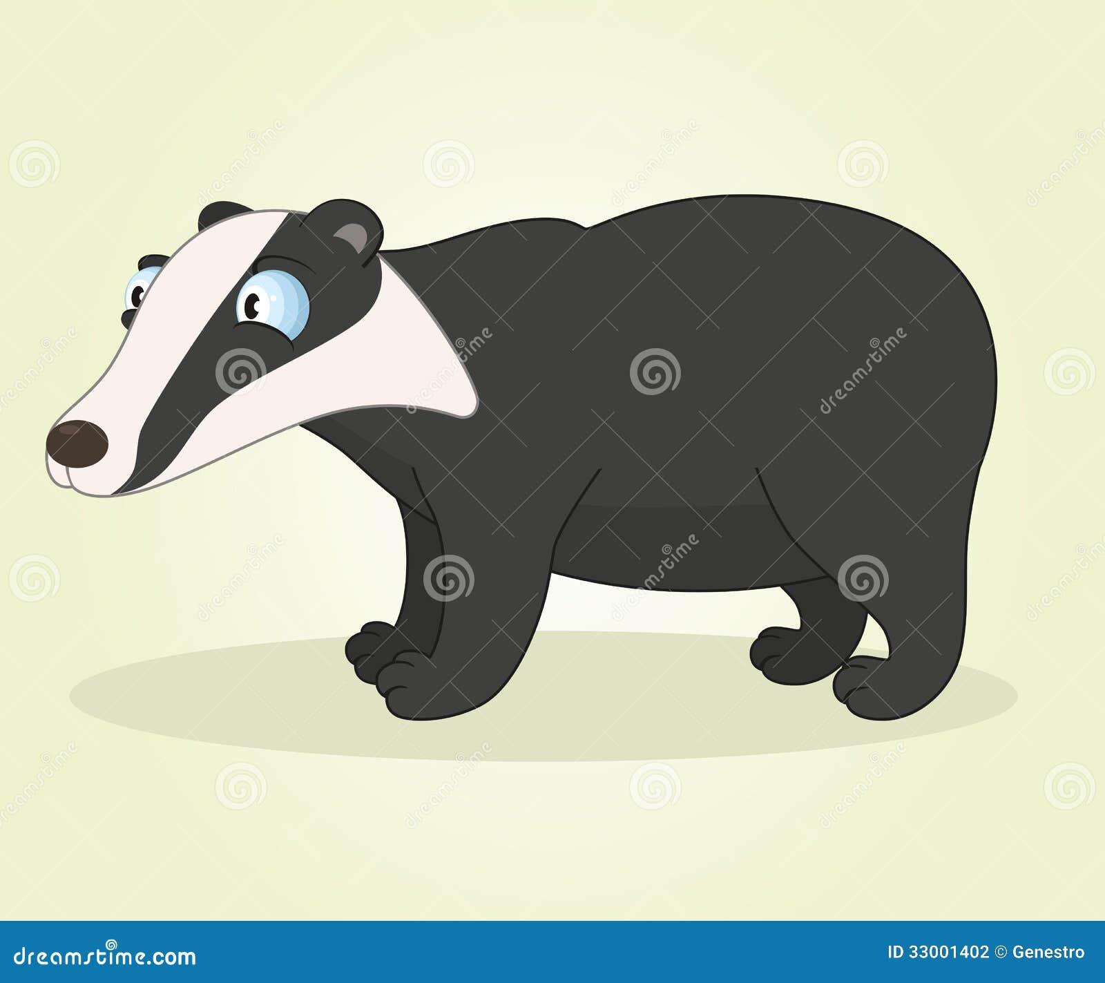 Clipart Badger