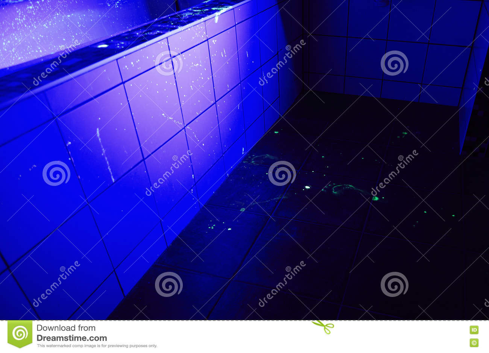 Badkamers als plaats van misdaad