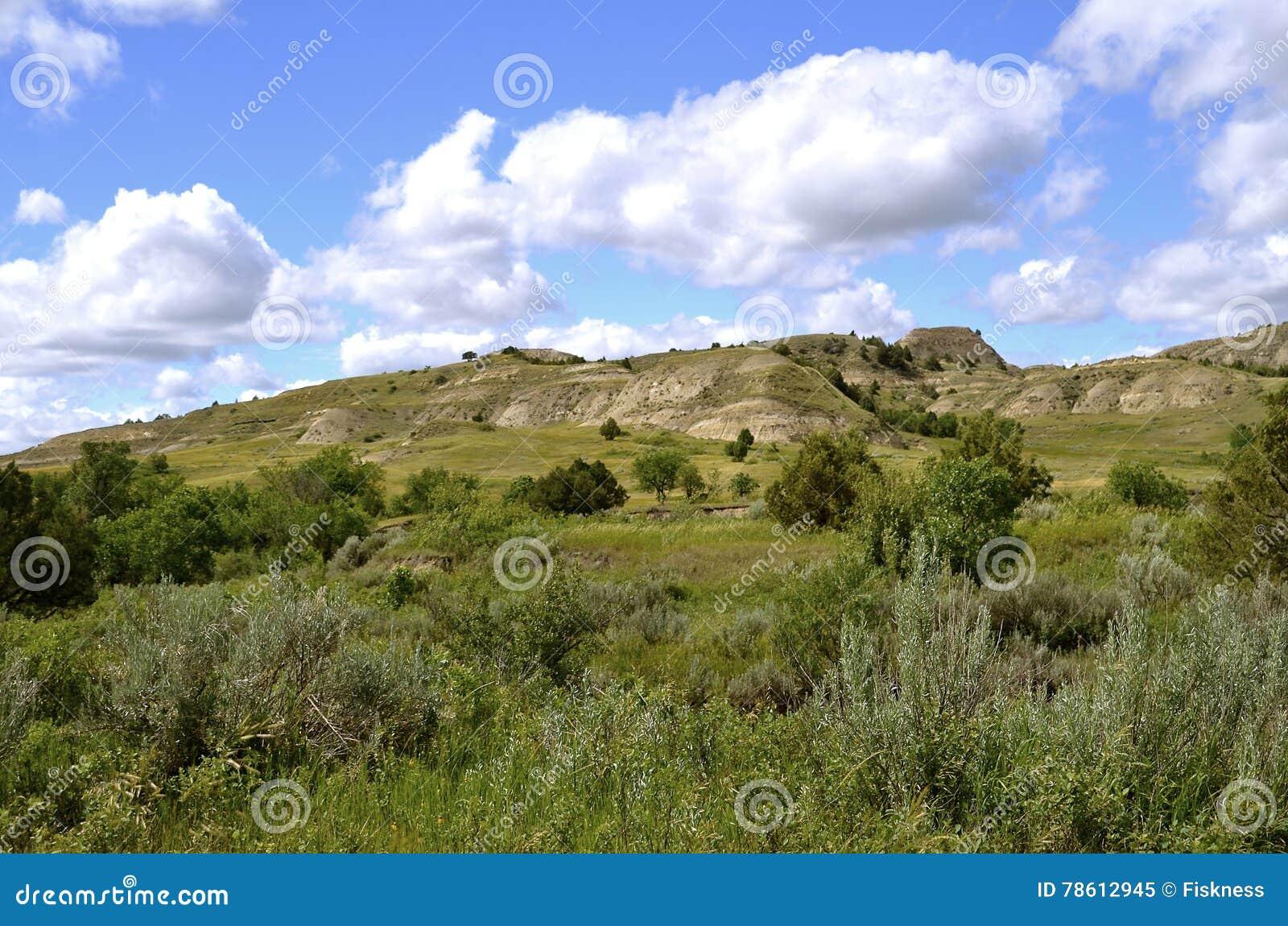 Badlands av North Dakota