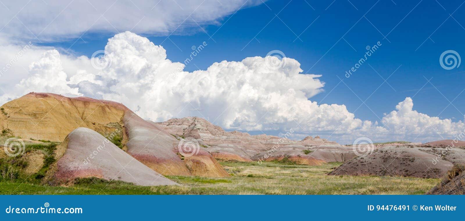 Badlands Nationaal Park Panorma