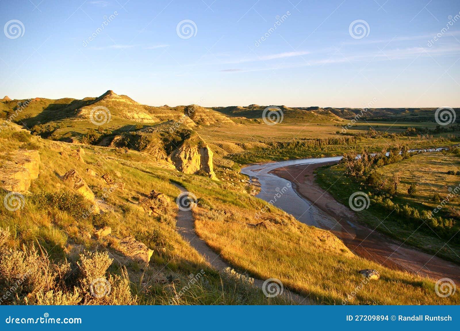 The Badlands of North Dakota