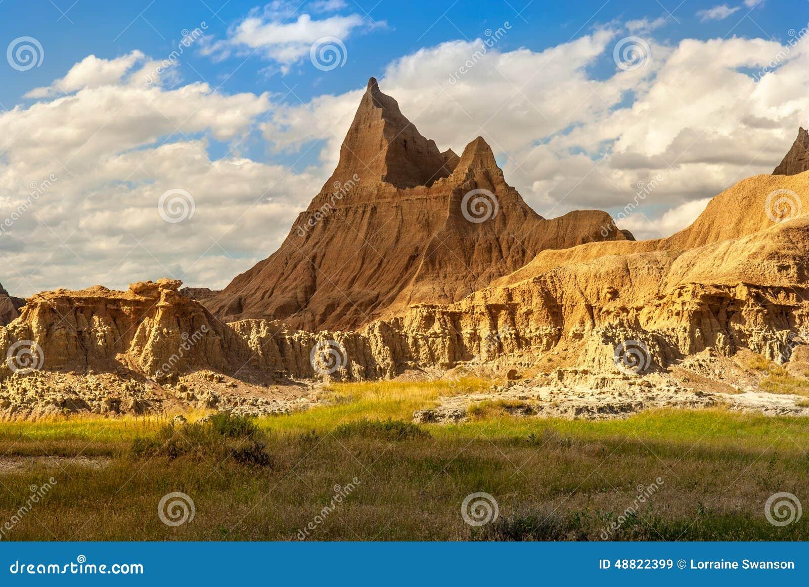 Badlands Park Narodowy Południowy Dakota USA