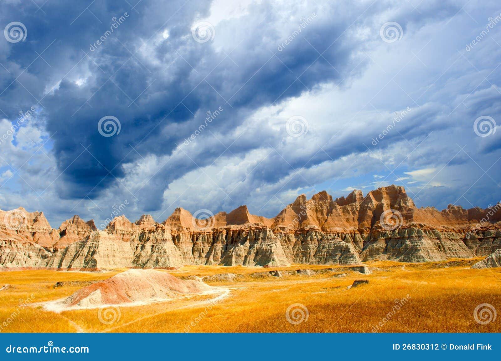 Badlands Południe Dakota