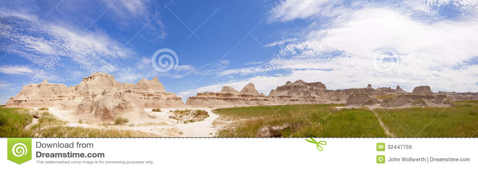 Badlandspanorama