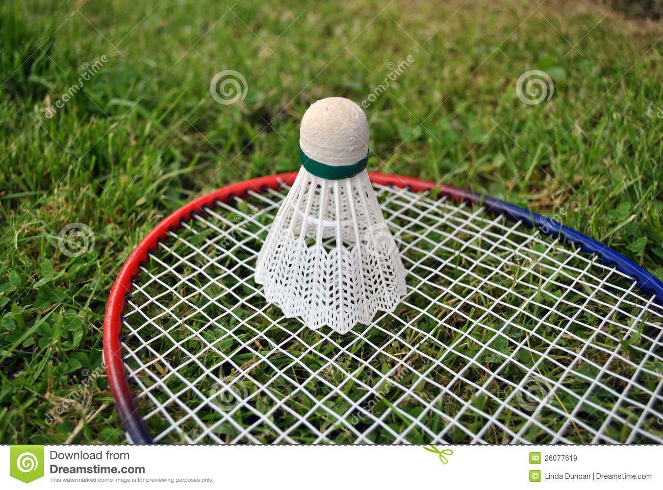 how to make badminton court on grass
