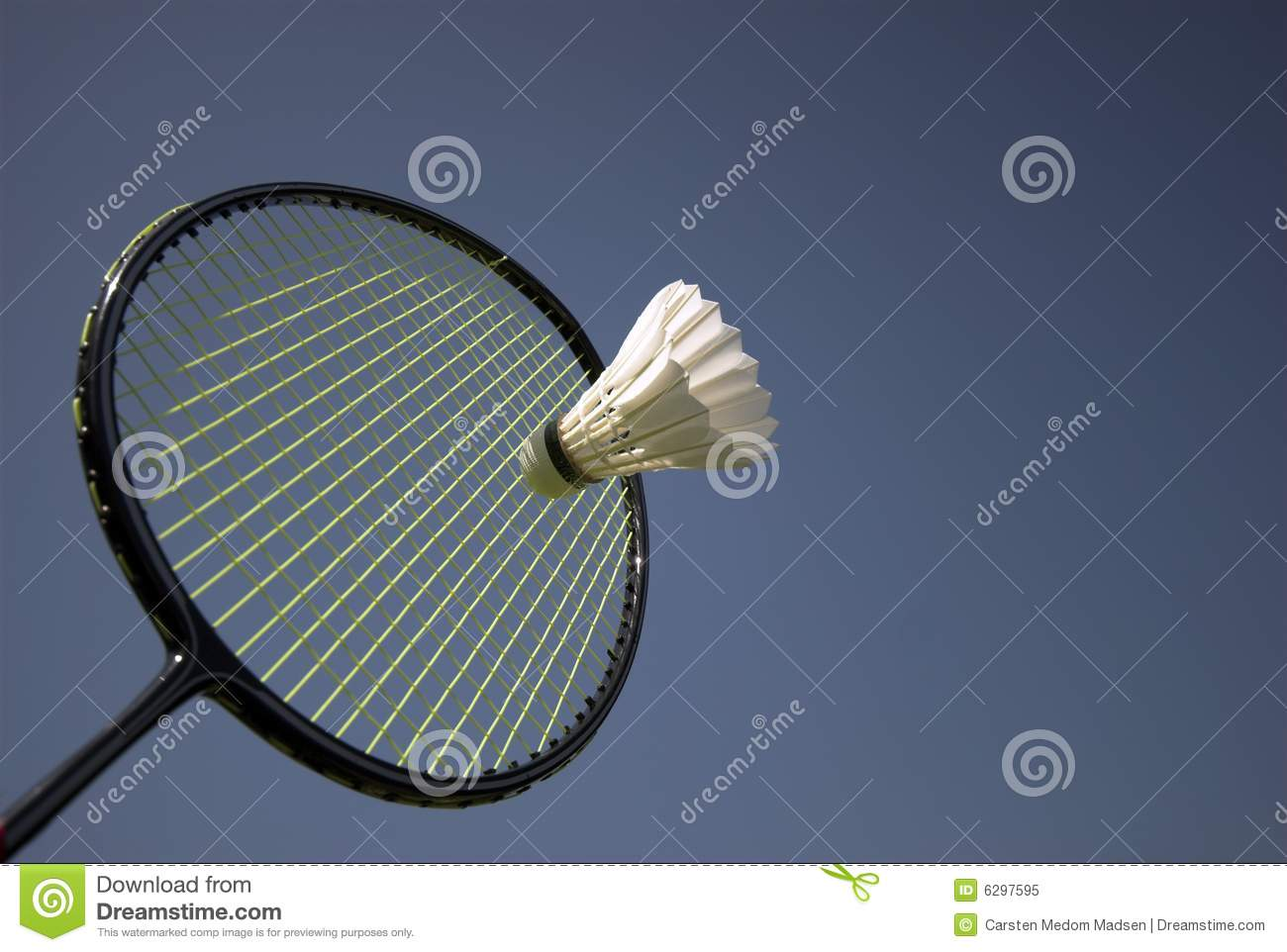 Badminton Action
