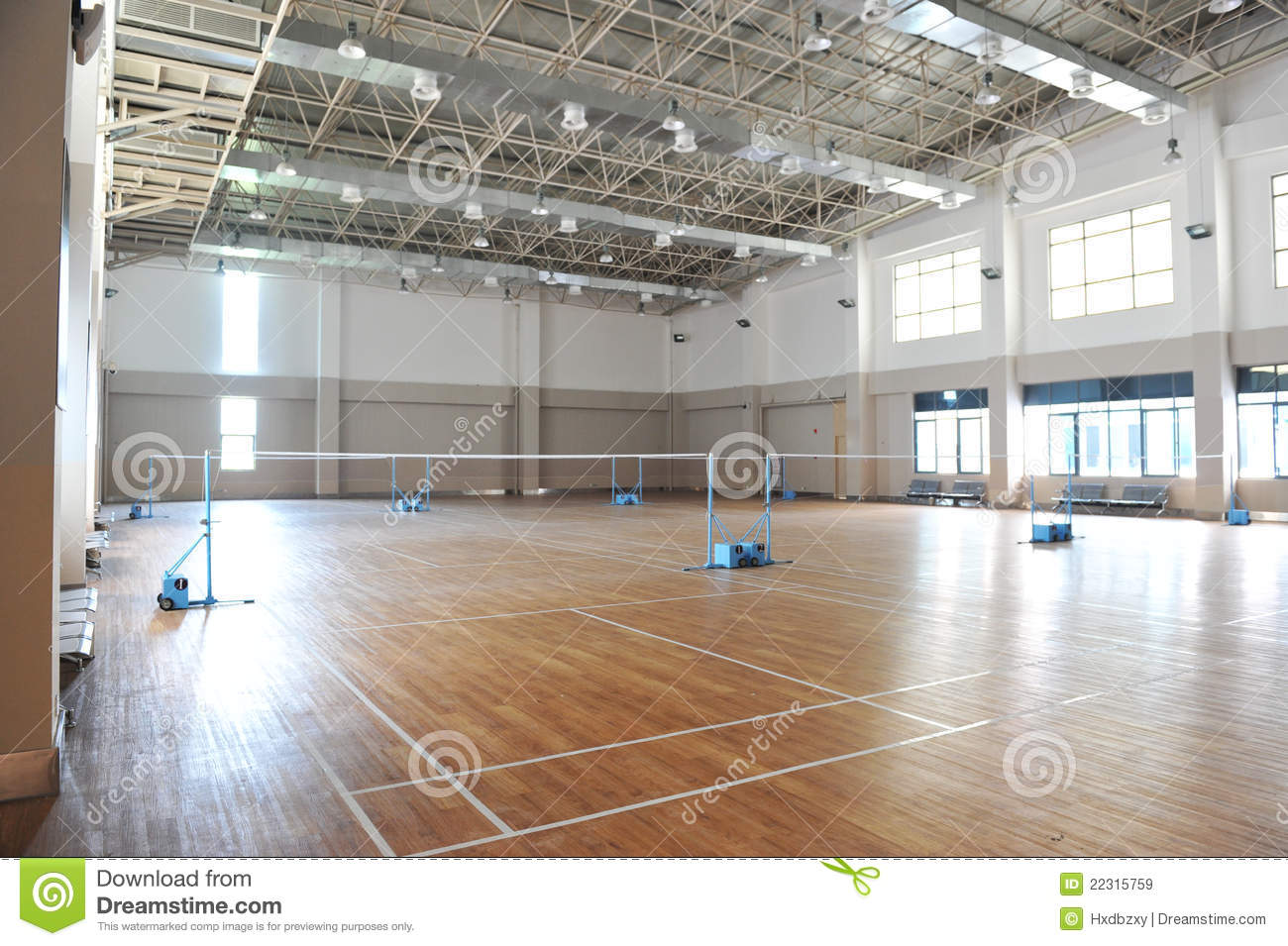 Badminton Court Royalty Free Stock Images Image 22315759