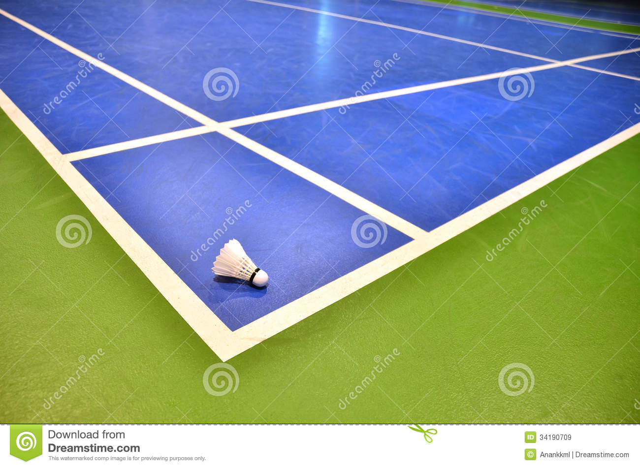 Badminton Court Royalty Free Stock Images Image 34190709