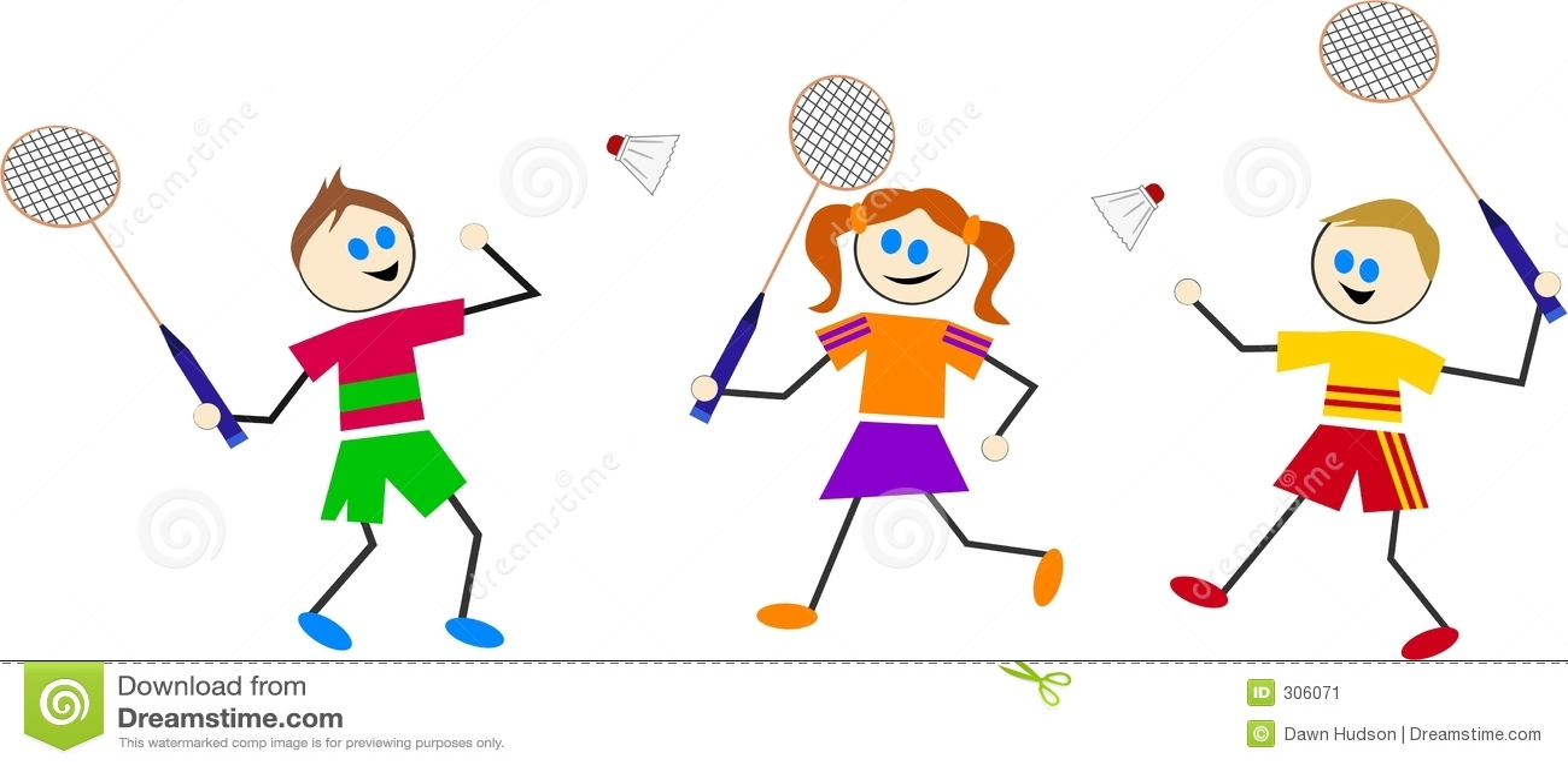 Badminton dzieci