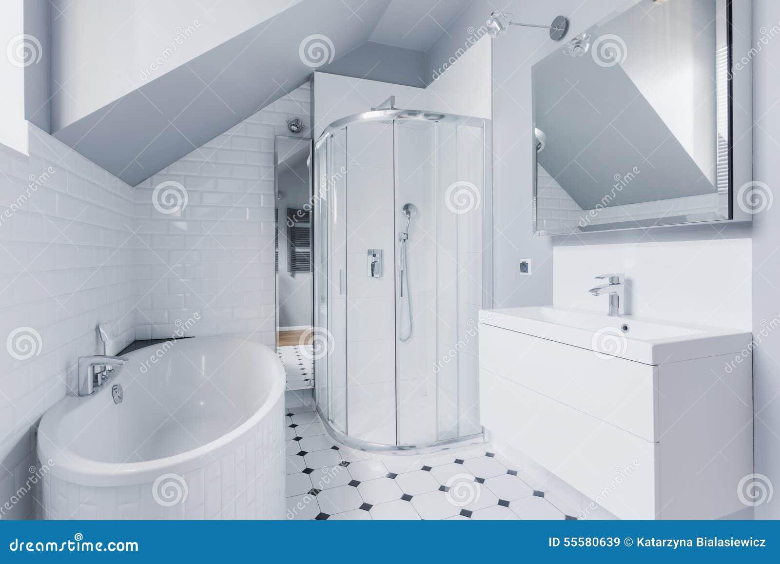 Klassisk stil för badrum stock illustrationer   bild: 42411503