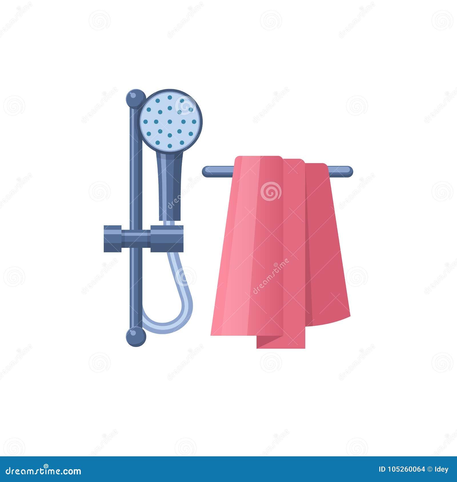 Badrummet badar eller badar hem- möblemang för duschrum