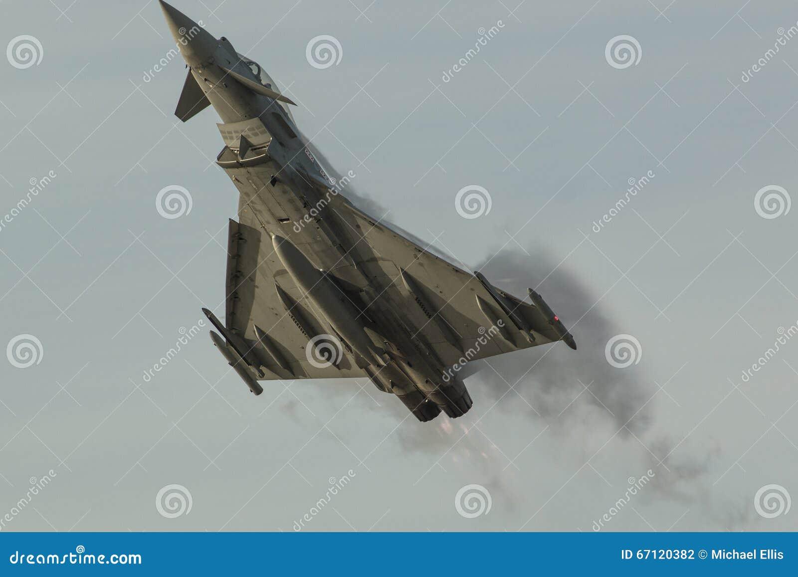 BAe Typhoon - 04 stock photo  Image of southport, plane - 67120382