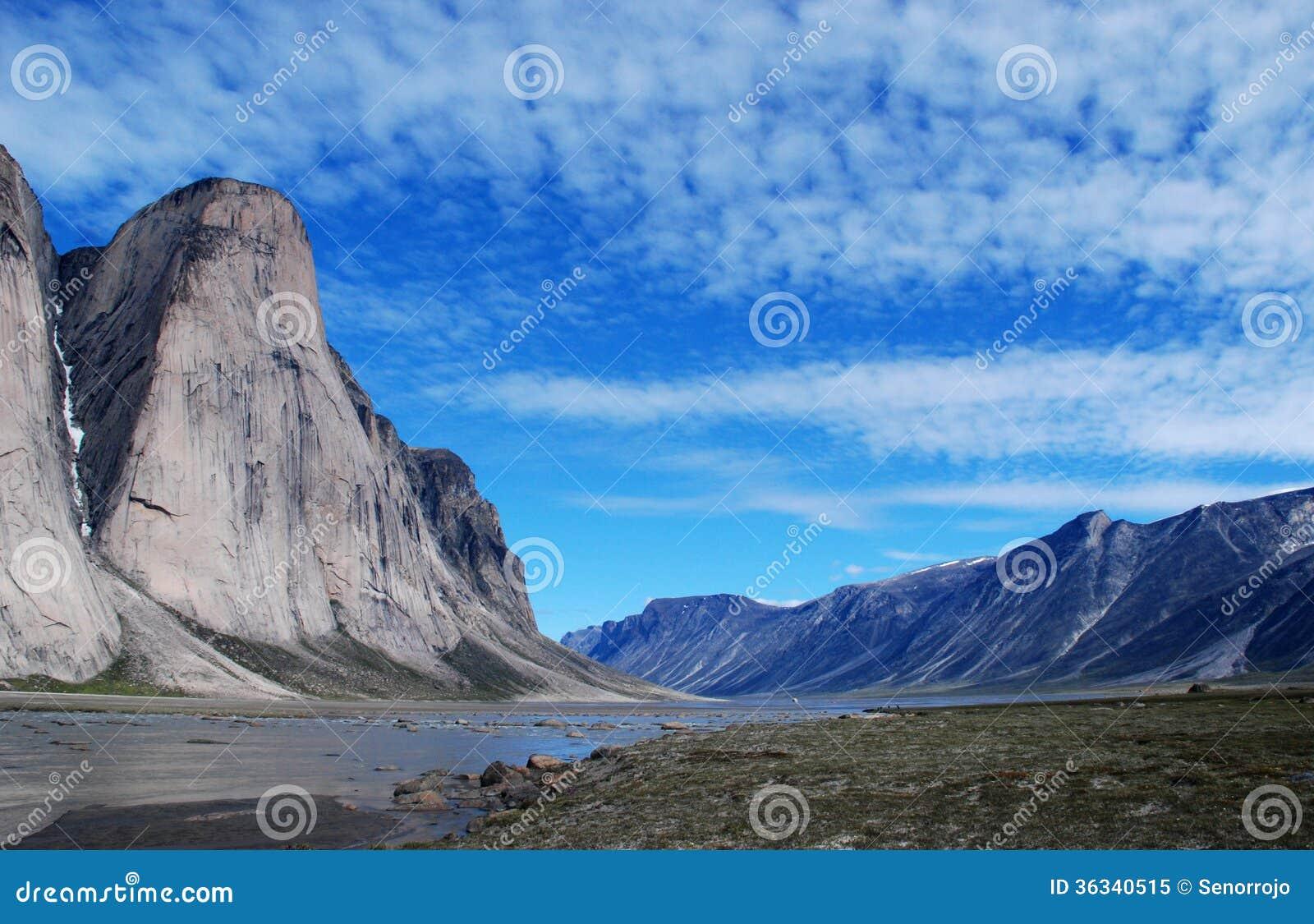 Baffin-Insel-Spitzen