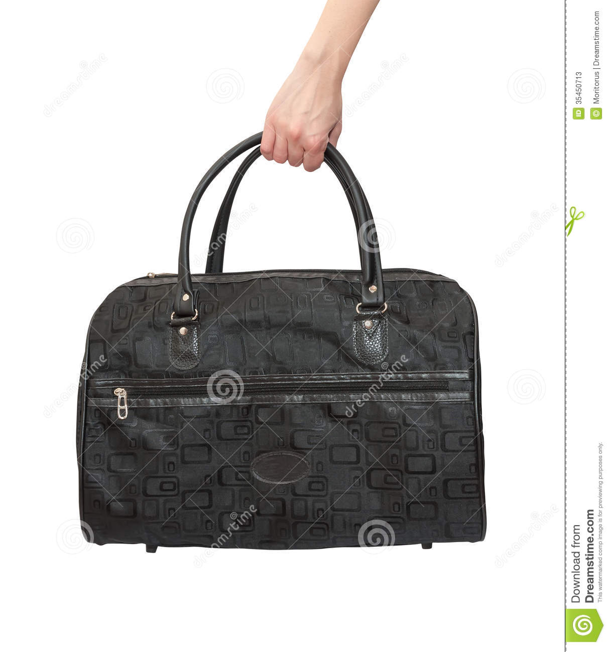 Bag In Hand Stock Photos - Image: 35450713